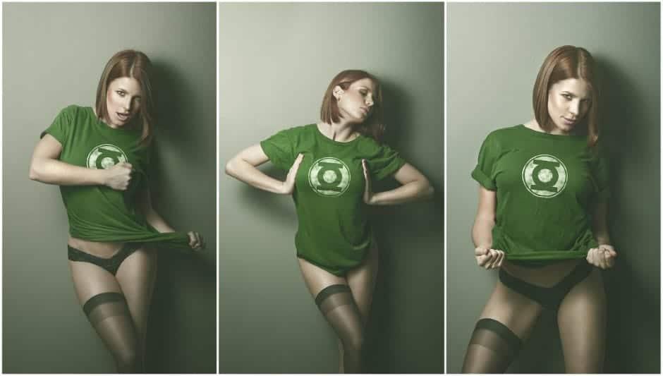 Green Lantern Girl, Hay una lesbiana en mi sopa