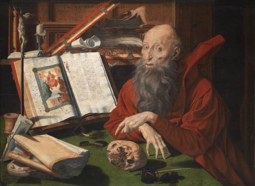 Marinus van Reymerswaele san jeronimo