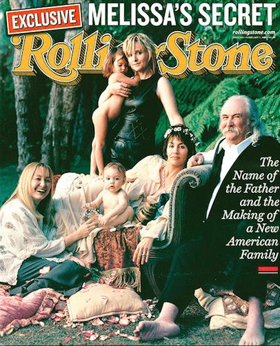 Portada de Rolling Stone familia de Melissa Etheridge