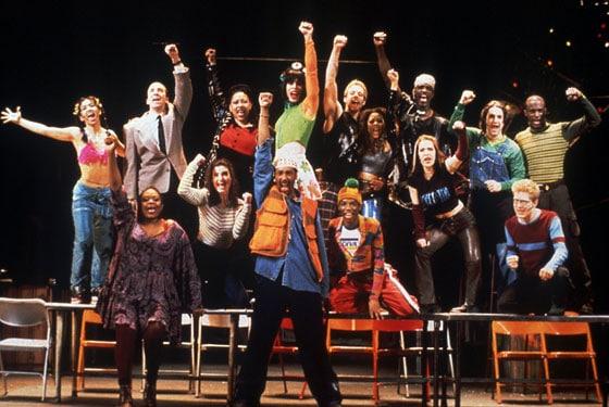 Rent-cast 'Rent', la ópera rock de los 90 cumple veinte años