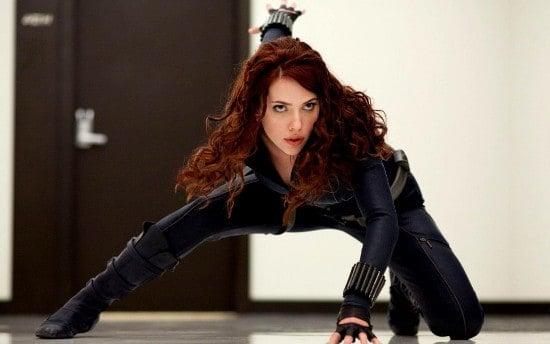 Scarlett Johansson Black Widow, Hay una lesbiana en mi sopa