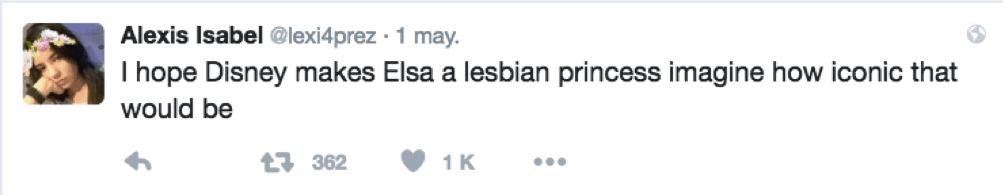 tuit-elsa-lesbian Cromosoma Ilegal: Let it go