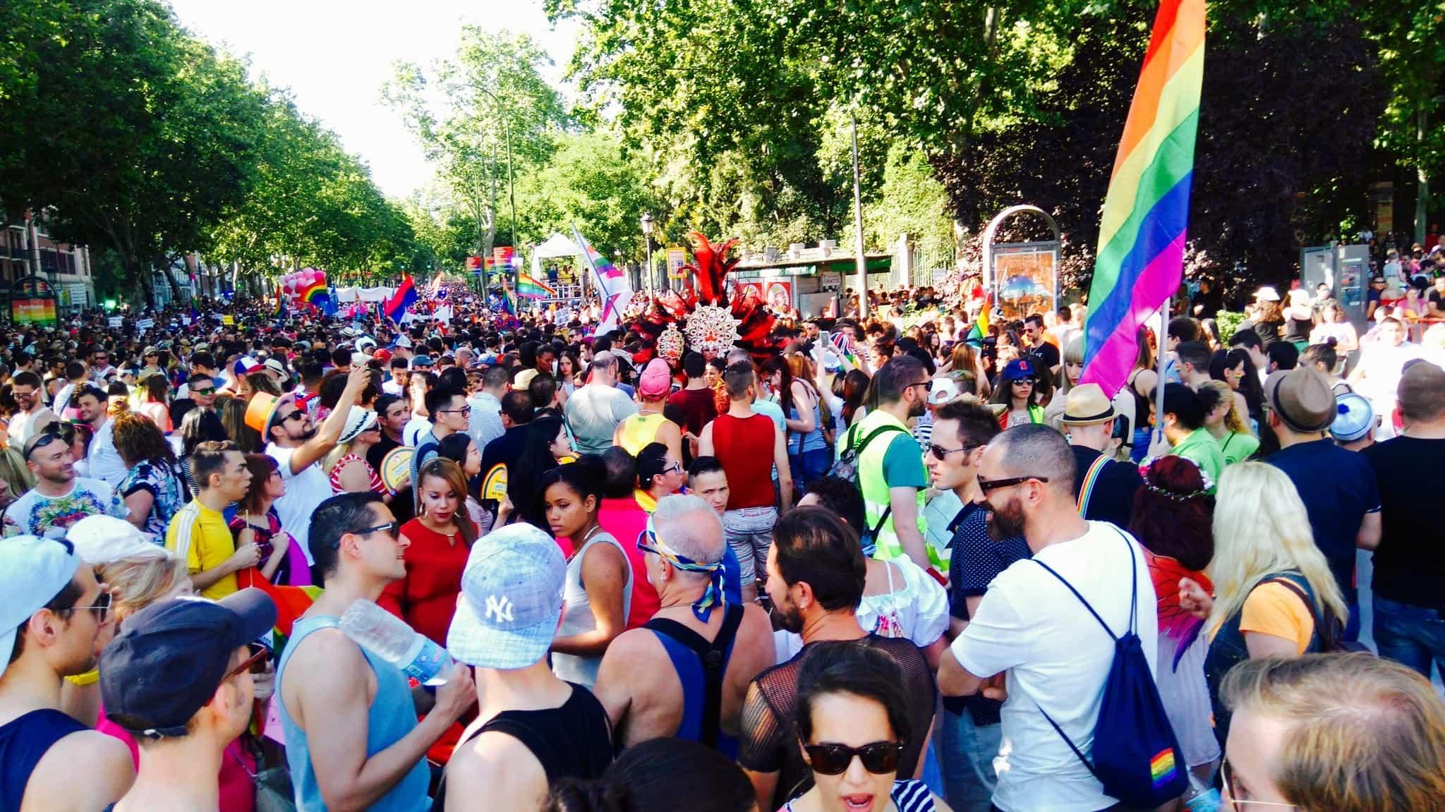 Manifestaci%C3%B3n Orgullo LGTB 2016, Hay una lesbiana en mi sopa
