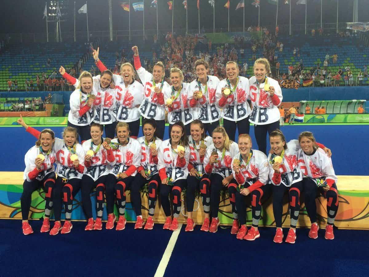 GB women hockey gold
