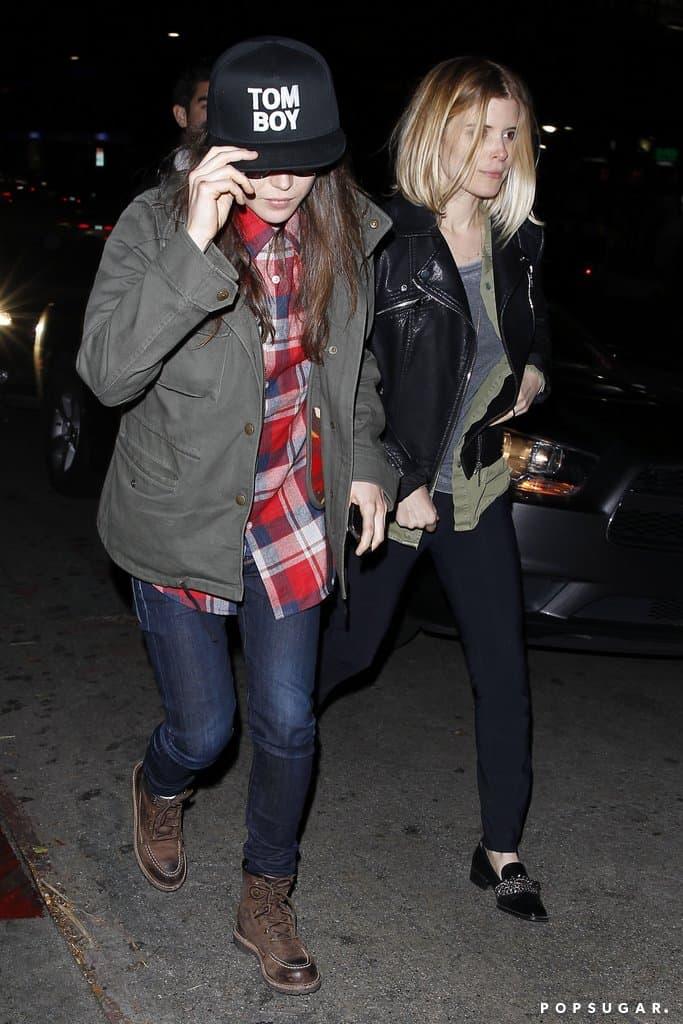 Kate Mara Ellen Page Chateau Marmont 2, Hay una lesbiana en mi sopa