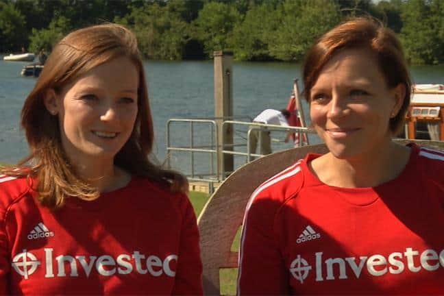 Kate y Helen Richardson-Walsh