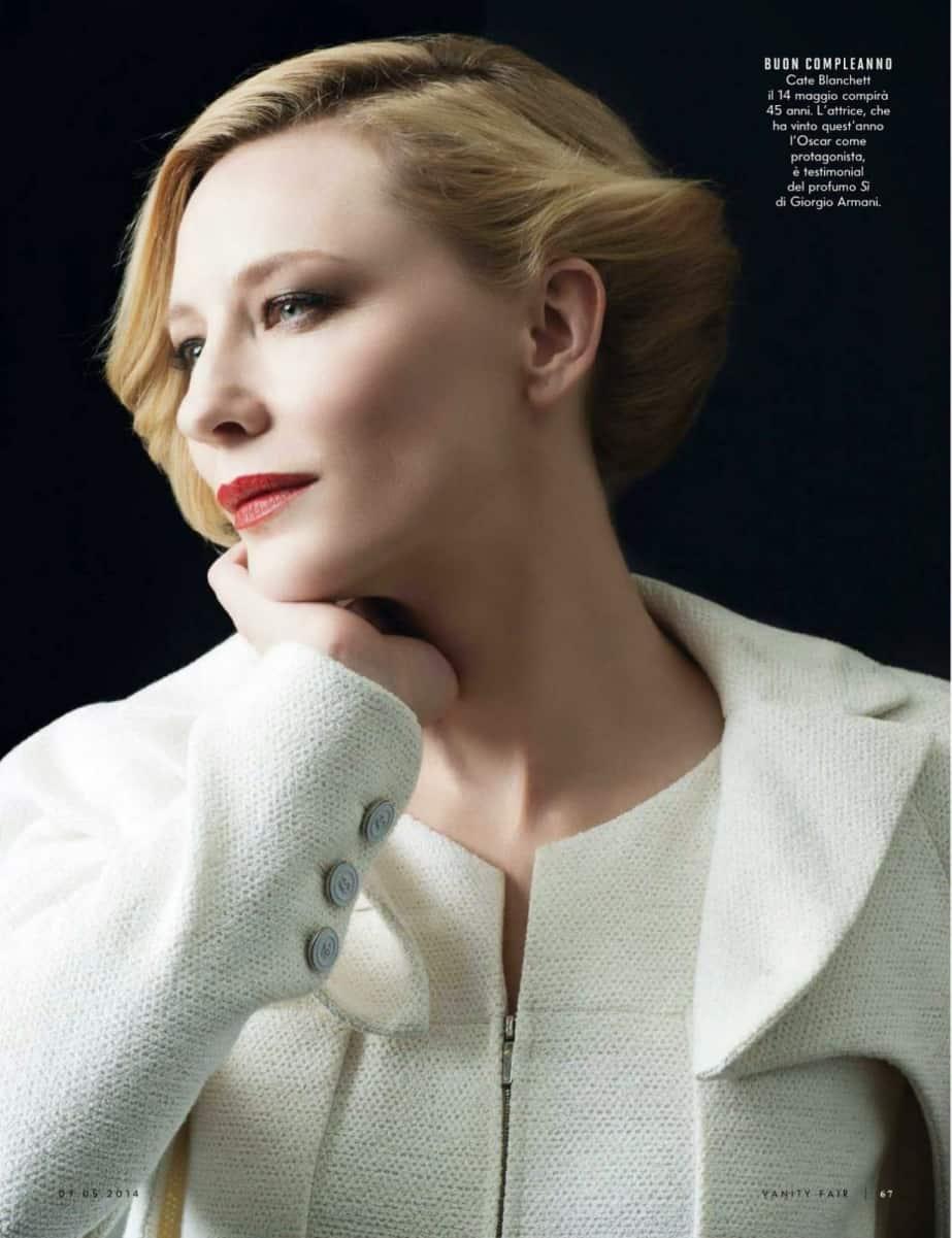 Cate Blanchett9, Hay una lesbiana en mi sopa