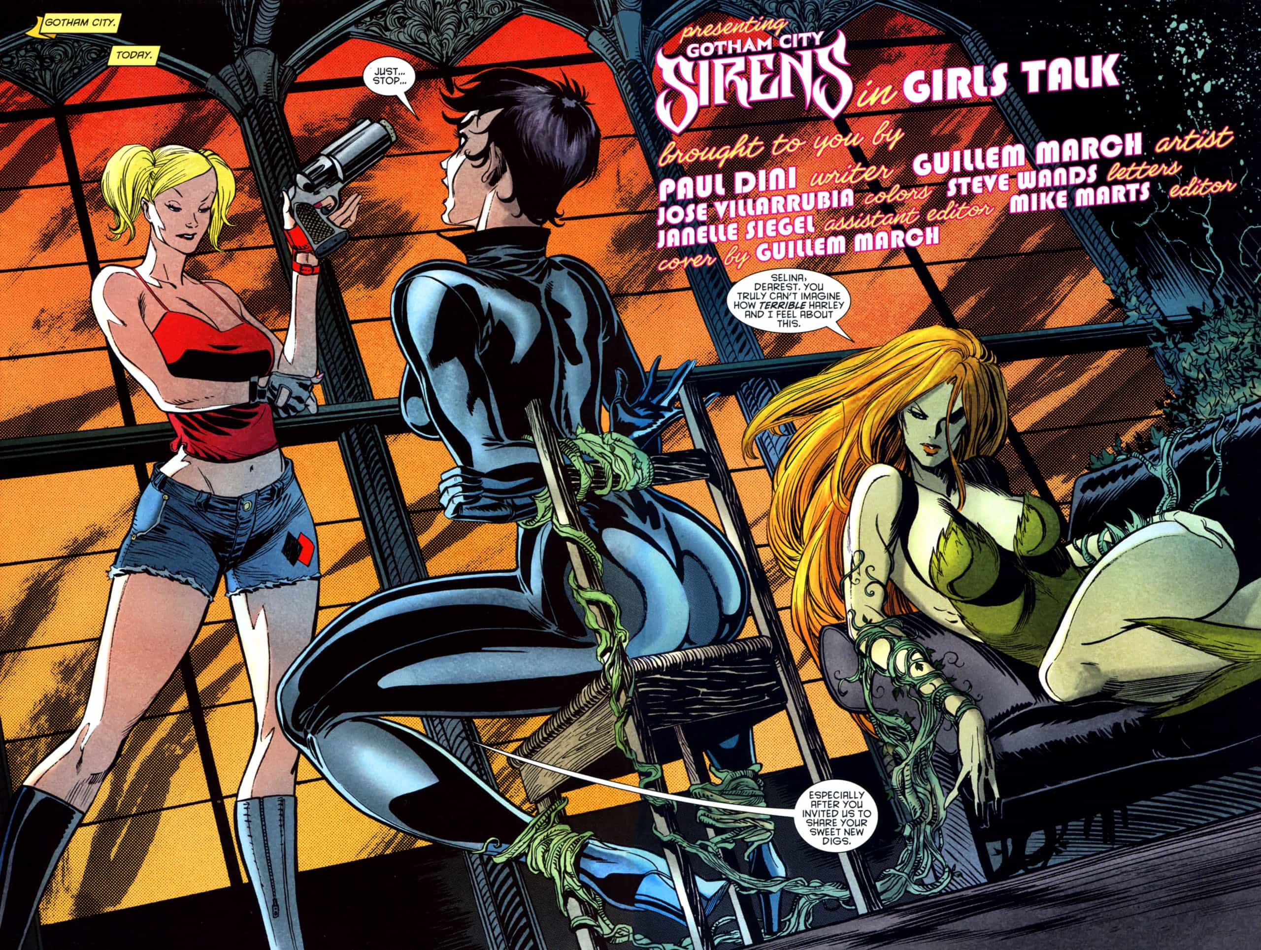 961891 Gotham City Sirens  2 005 06, Hay una lesbiana en mi sopa