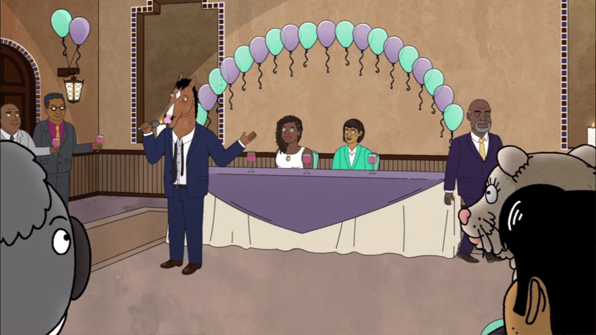 """La Boda De Dos Chicas En La Serie De Animación """"BoJack Horseman""""2, Hay una lesbiana en mi sopa"""
