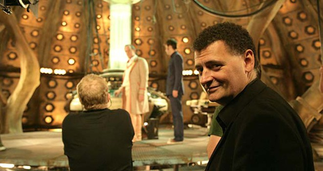 Steven Moffat Doctor Who, Hay una lesbiana en mi sopa
