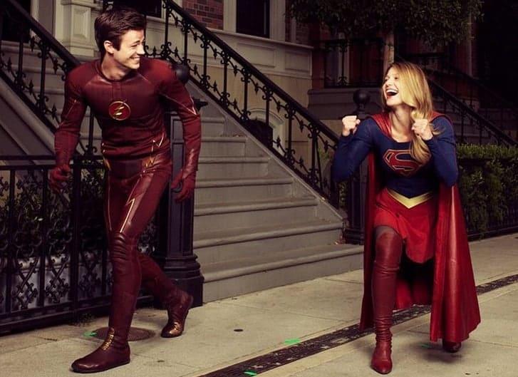 Supergirl Flash 2e7p, Hay una lesbiana en mi sopa