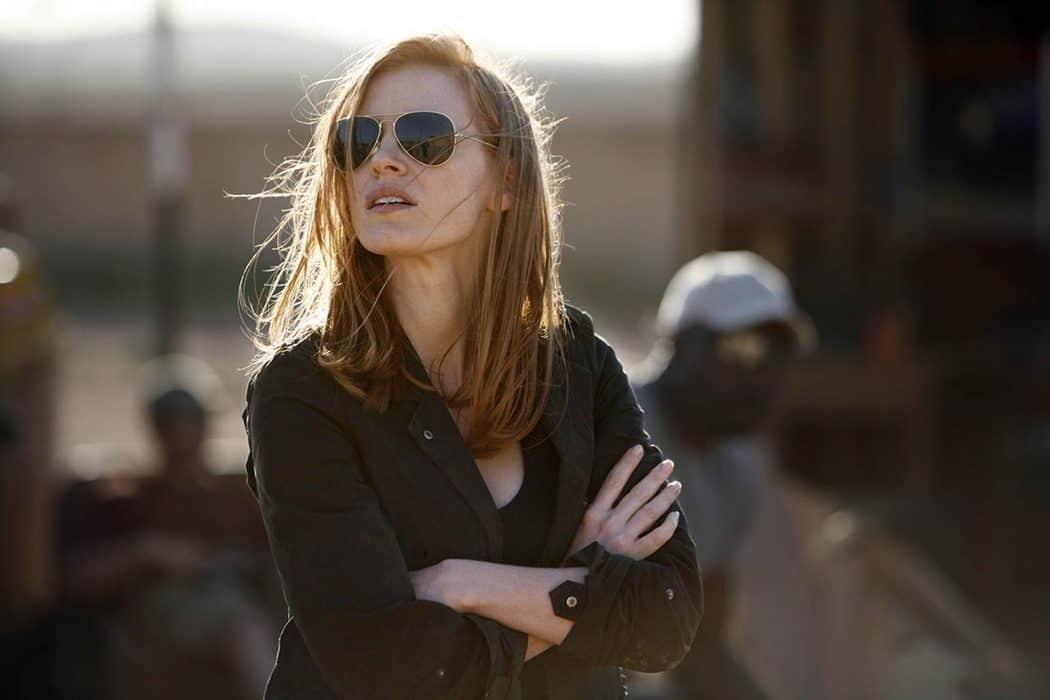Jessica Chastain Sunglasses, Hay una lesbiana en mi sopa