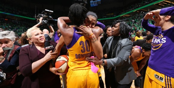 Wnba Finals Los Angeles Sparks Minnesota Lynx1, Hay una lesbiana en mi sopa