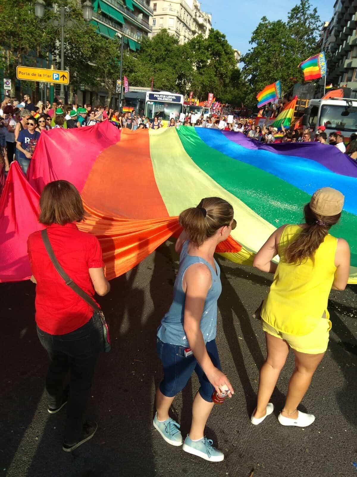 Orgullo2017 Over The Rainbow, Hay una lesbiana en mi sopa