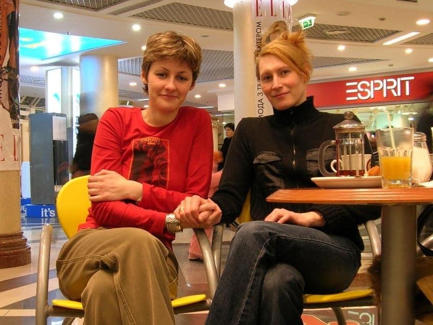 Meg And I Kiev March 2006, Hay una lesbiana en mi sopa