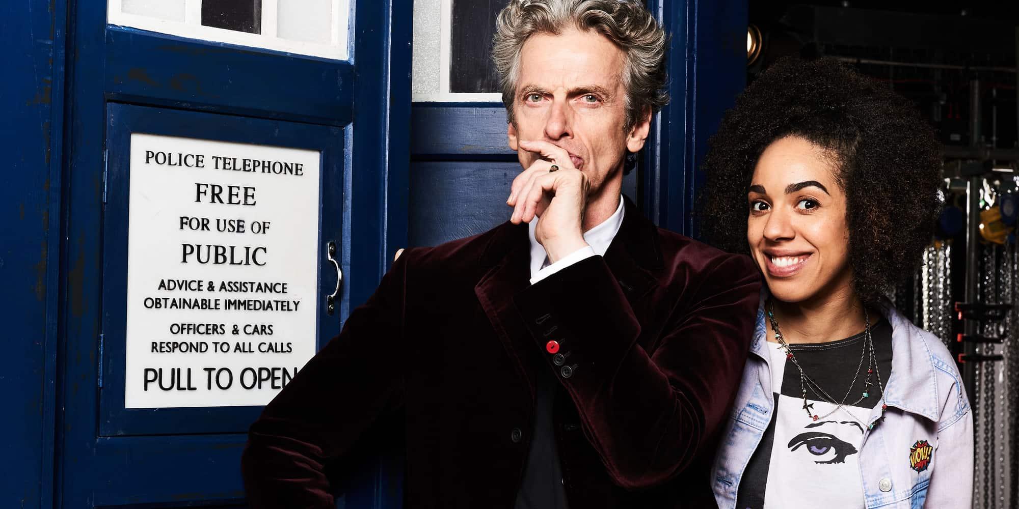 Doctor Who Peter Capaldi Bill Pearl Mackie, Hay una lesbiana en mi sopa