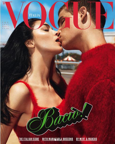 vogue 2 - Vogue Italia lanza dos versiones LGBT de su portada de septiembre