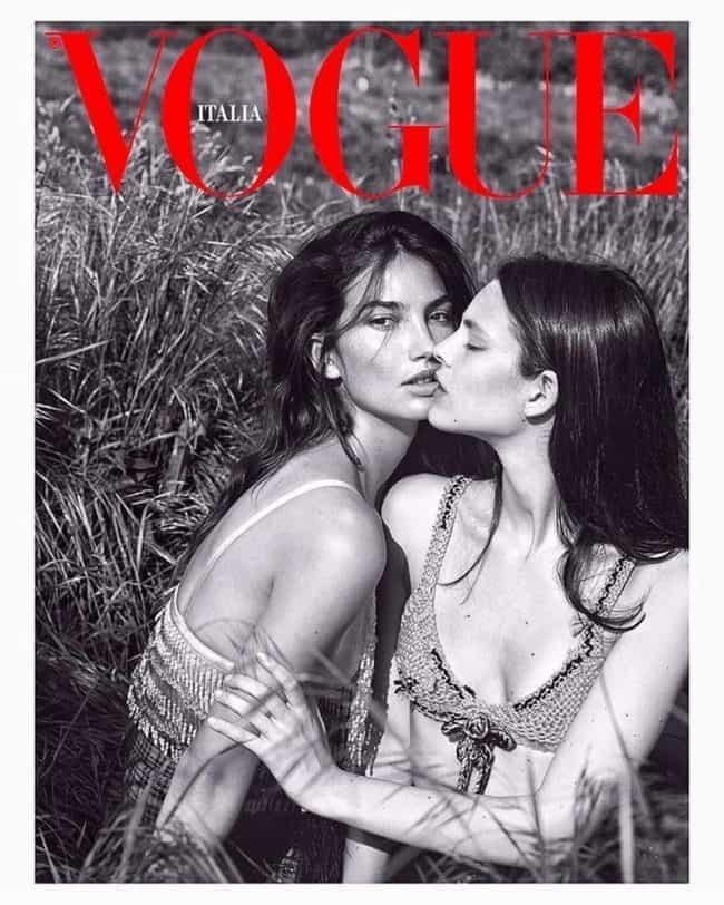 vogue - Vogue Italia lanza dos versiones LGBT de su portada de septiembre