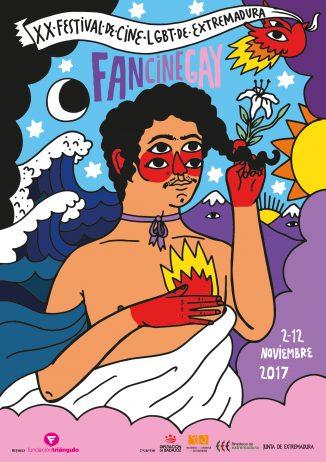 CARTEL 20ª Edición FanCineGay 1, Hay una lesbiana en mi sopa