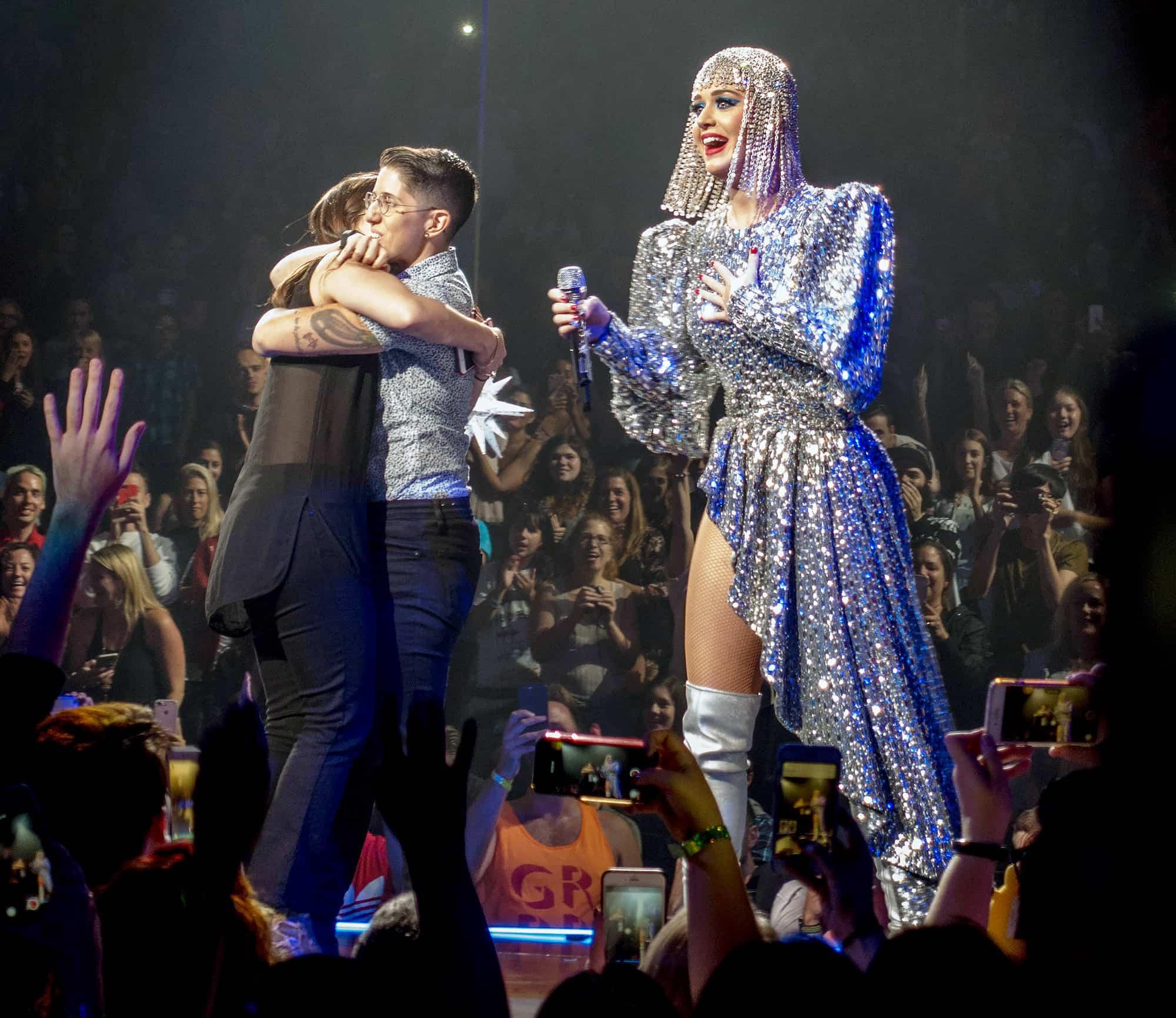 Lesbian Katy Perry, Hay una lesbiana en mi sopa