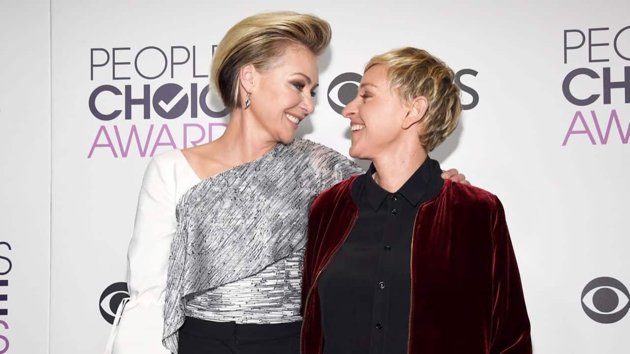 Ellen Portia Se Separan, Hay una lesbiana en mi sopa