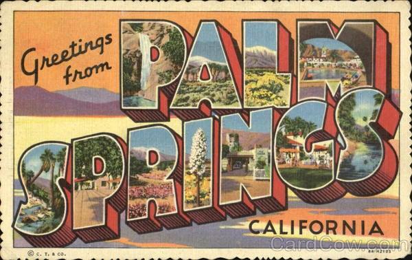 palm springsvintage - Ésta ciudad de California estará gobernada solamente por personas LGBT