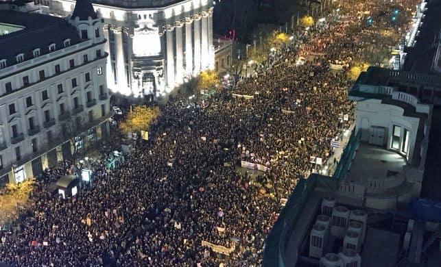madrid - Y nos dimos cuenta de que no estábamos solas
