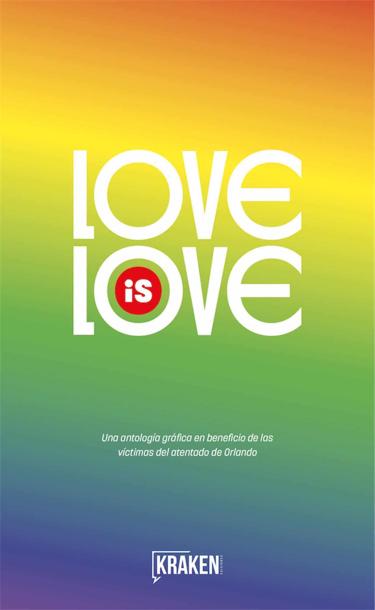 Portada española de 'Love is Love'
