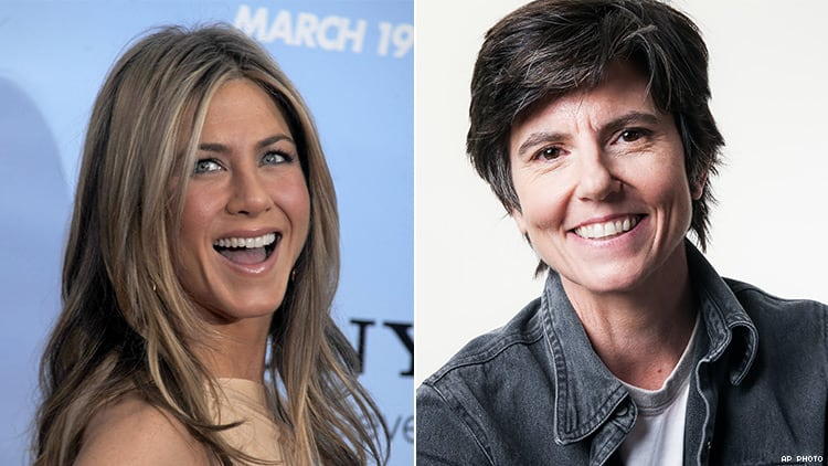 jennifer aniston tig notaro 750x - Jennifer Aniston, primera presidenta mujer y lesbiana de los Estados Unidos en su próxima serie