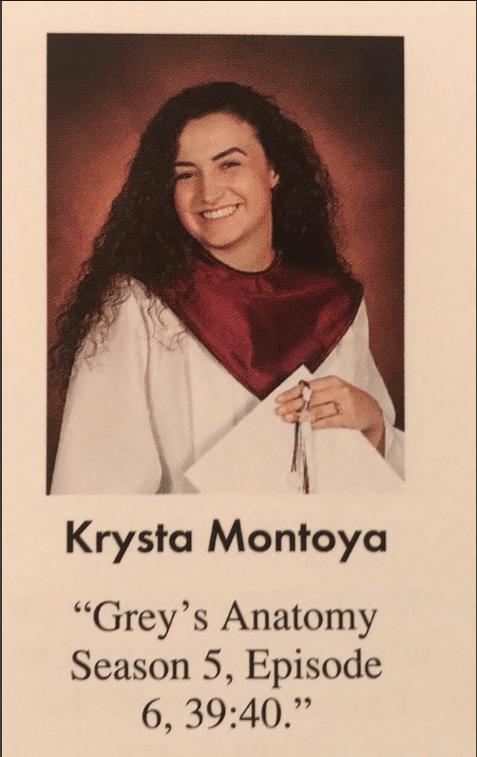 Krysta Montoya, Hay una lesbiana en mi sopa
