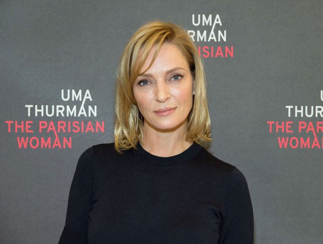 uma thurman - Uma Thurman, a tope de croqueteo en su nueva película