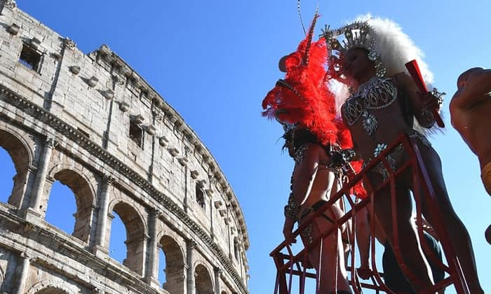 orgullo roma  - Las fotografías de la reivindicativa marcha del Orgullo LGTB en Roma