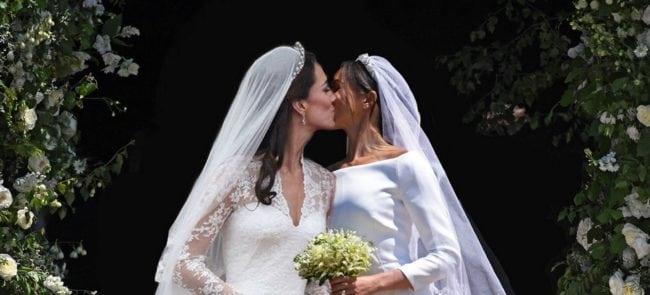 Meghan Markle And Kate Middleton , Hay una lesbiana en mi sopa