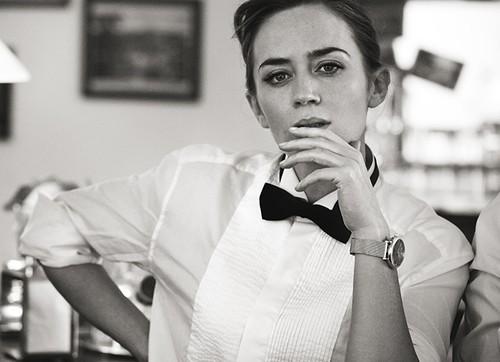 Emily Blunt, Hay una lesbiana en mi sopa