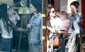 Demi Moore, su nueva novia y la hija que ambas están criando