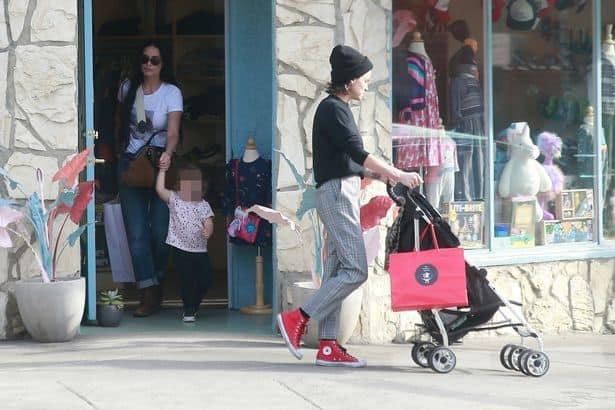 demi moore rumi  - Demi Moore, su nueva novia y la hija que ambas están criando