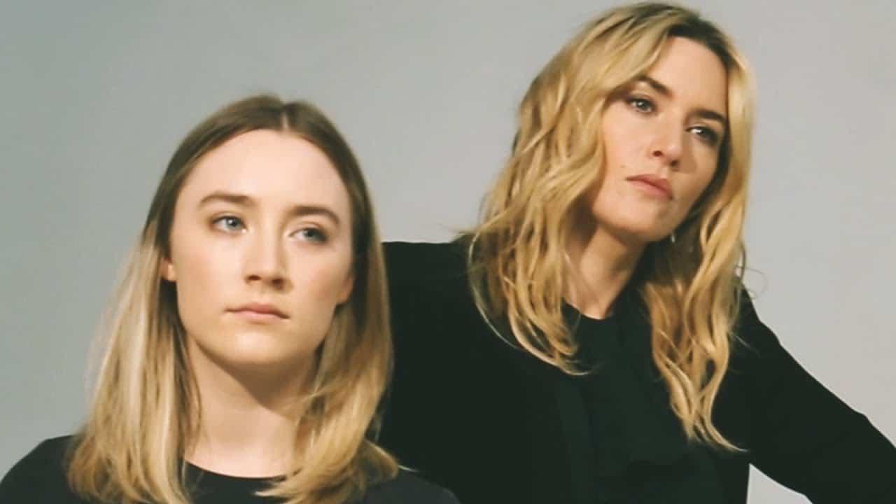 Kate Winslet Saoirse Ronan, Hay una lesbiana en mi sopa