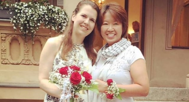 Lesbian Japan Government Marry Ai Nakajima Facebook 640x345 Acf Cropped, Hay una lesbiana en mi sopa