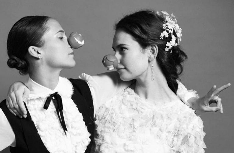 ¡Lily James y Alicia Vikander se han casado!