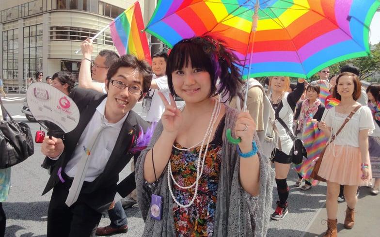 Shiho Shimoyamada 1, Hay una lesbiana en mi sopa