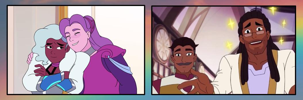 parejas LGBT canon en She-Ra