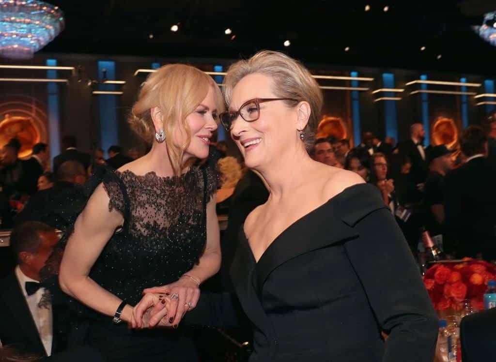 Pictured Nicole Kidman Meryl Streep Bien, Hay una lesbiana en mi sopa