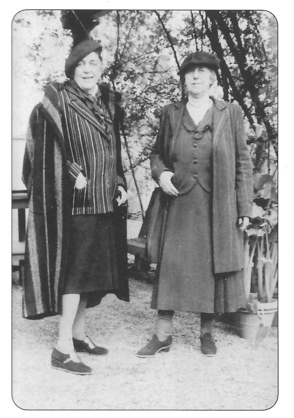 Natalie y Romaine Brooks