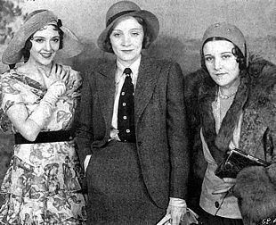 Imperio Argentina Marlene Dietrich, Hay una lesbiana en mi sopa