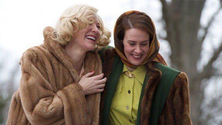 Carol Sarah Paulson Cate Blanchett, Hay una lesbiana en mi sopa